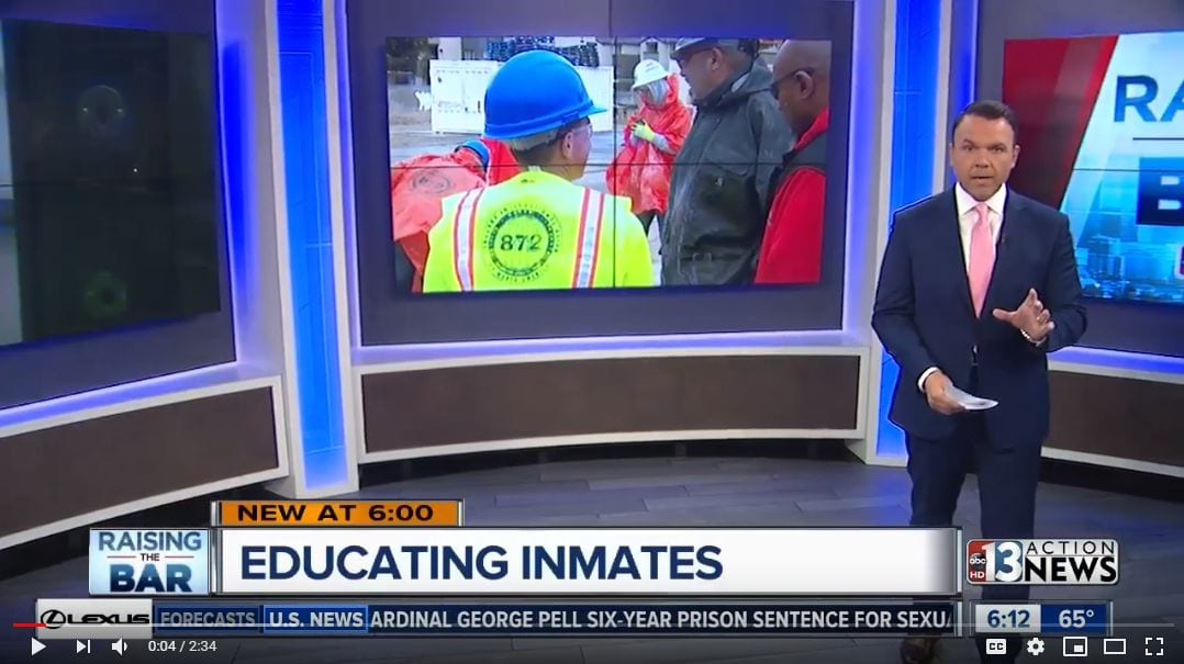 Helping Nevada Inmates With Education