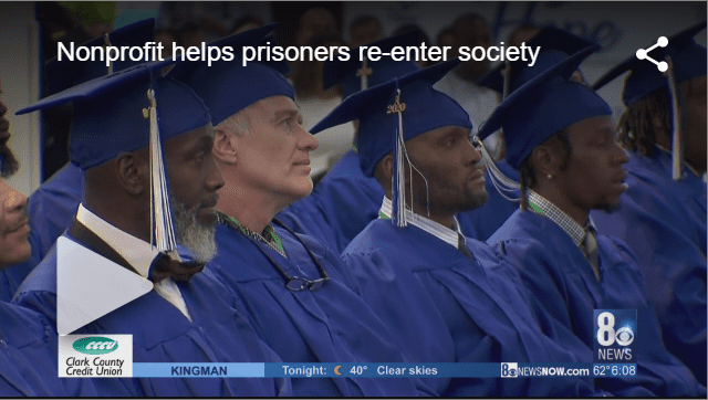 Nonprofit helps prisoners re-enter society