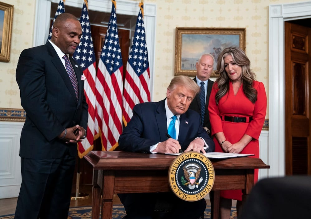 Behind Trump's Surprise Pardon To Black American Who Helps Prisoners Start Life Fresh